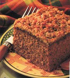 Lazy Daisy Oatmeal Cake - Recipe | http://www.quakeroats.com/
