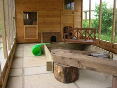 Rabbit hutch on pinterest rabbit hutches rabbit cages for Amazing rabbit cages