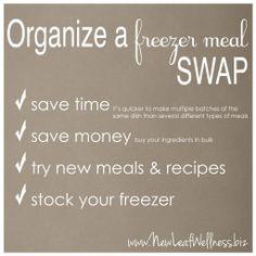 freezer meal swap!  @Lecia Smith