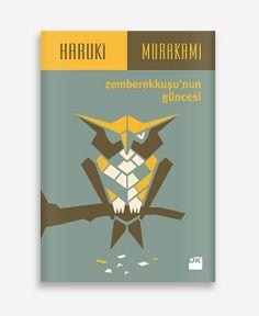 The Wind-Up Bird Chronicle / Haruki Murakami / Book Cover by geray gencer, via Flickr