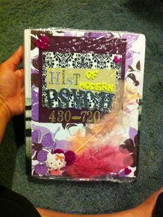 DIY School book covers