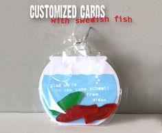 Customized Printable Fishbowl Cards by PBJandJ on Etsy