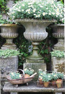 Antique Urns.