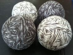 Easy instructions for wool dryer balls