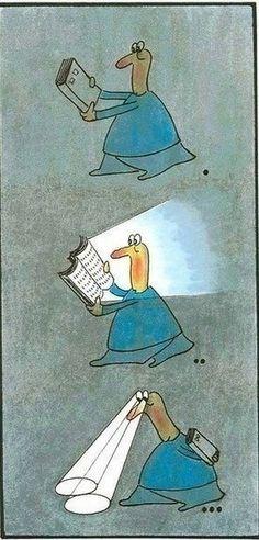 Books light the way.