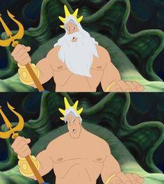 Triton — The Little Mermaid