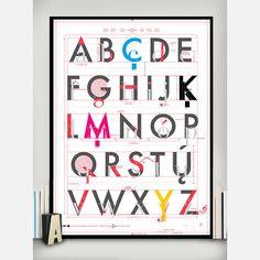 Alphabet of Typography