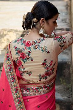 Embroidered blouse b