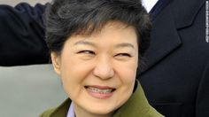Park Geun Hye: The first woman to become a president in south Korea.
