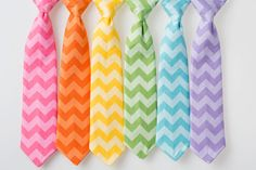 Boys Easter Ties  Tone on Tone Chevron  Pink by littlegentleman, $20.00