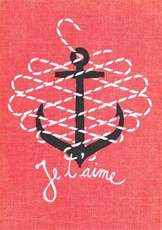 navy :) #anchor #nautical