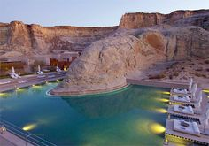 Believe it or not, this is in Utah! I hope to lay in  this pool one day!