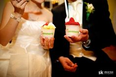 this couple had a pinkberry bar at their wedding AND SO WILL I