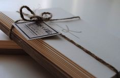 Simple Monogram cards
