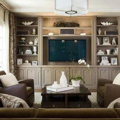 pictures of built in entertainment centers | Built In Entertainment Center Design Ideas, Pictures, ... | For the H ...