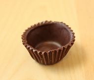 How to make edible chocolate cups for candies, mousse, ganache, etc.