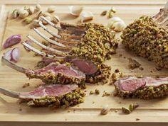 pistachio crust, lamb