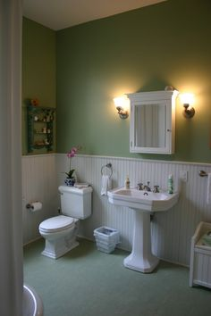 Maybe this green for the Bathroom?