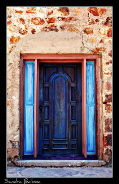 blues and browns, ~ Bisbee, Arizona.