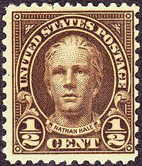 Nathan Hale stamp