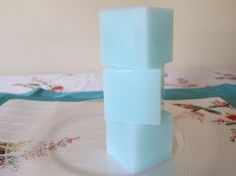 Aqua Spa Shea Butter Cube Soap by blushingrose on Etsy
