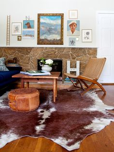 - 17 Stylish Boho-Chic Designs on HGTV The rugs and hodge podgerie