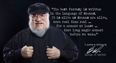 rr martin - George RR Martin's quotes on writing
