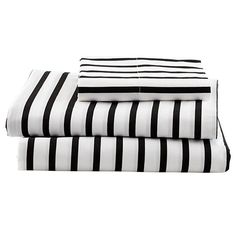Noir Stripe Sheet Set | Lod of Nod
