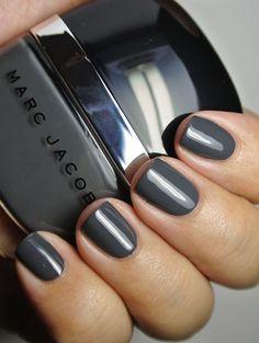 jacob enamor, fashion, nail, 50 shade, color, grey, beauti, marc jacobs makeup, gray