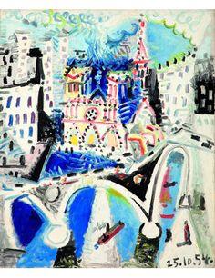 Picasso 'Notre Dame de Paris'