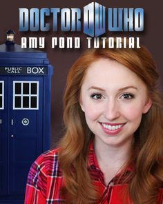Doctor Who | Amy Pond Makeup Tutorial