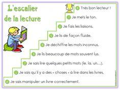 L'escalier de la lecture