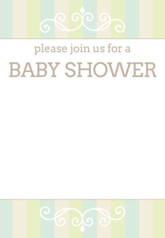 #Baby #Shower #Invitation Free Printable Baby Shower Invitation