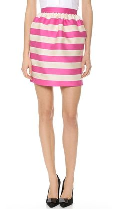 Bright stripes.