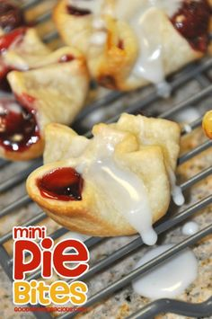 Mini Pie Bites - Make different flavors so everyone can have their favorite pie in these yummy bite-sized treats.