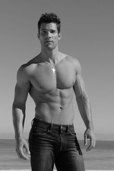 eye candi, sexi, fitness abs, guy, aaron oconnel, jeans, black, connel 33, hot men