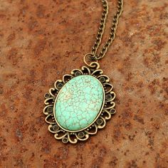Turquoise Necklace- Vintage