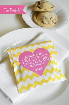 10 Edible Wedding Favor Ideas You Can Make at Home   eatwell101.com I like the idea of cookies in sleeves that match the wedding theme for cheap wedding favors.  Idea: Bake the cookies before hand and freeze. Thaw out in time for stuffing sleeves for a low stress favor!