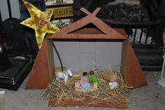 Nativity Scene Small World Play - The Imagination Tree