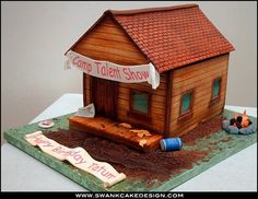 Log Cabin Cake Cakes Edible Architecture