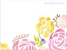 Lauren Conrad: Free Pretty Peony Desktop Wallpaper