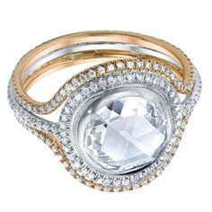 bling, iren neuwirth, diamond rings, neuwirth multicolor, diamonds, rose cut, multicolor gold, jewelri, pave diamond