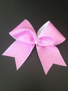 Glitter Cheer Bow by BowMamaCheerBows on Etsy