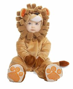 12 Halloween Costumes That Morph to Year-Round Dress-Up | Working Mother.   Baby Cuddly Lion  This lion costume for babies is just too cute for words. Except this word: Awww! Your little king or queen of the forest will feel oh-so delightfully ferocious in this ensemble that incorporates a snap-crotch plush jumpsuit (for easy diaper-changing) and detachable tail, paws and headpiece. Rawr! ($50, onestepahead.com)