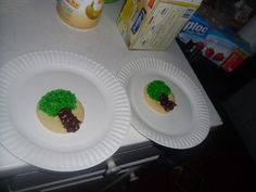 cookies with trees!!