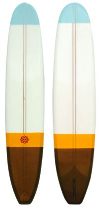 Bing Longboard Elevator by Cdm: In the 1960's the Bing Noserider and Lightweight models set the standard for perfection