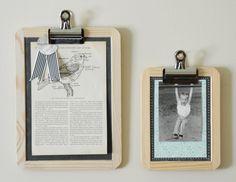 chalkboard frames ...this is soooo great :D #DIY #frames #picture #chalkboard #decoration #ideas #wallart