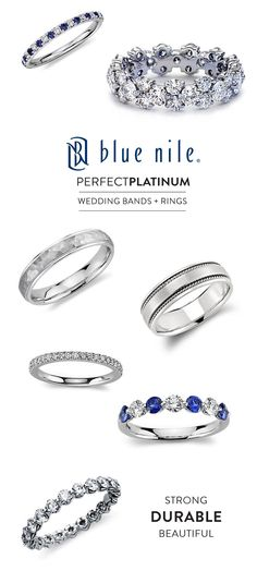Perfect Platinum Rings from Blue Nile and A Discount!