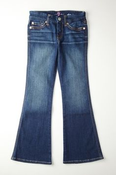 For the mini fashionista: 7 For All Mankind Kids Flare Jean