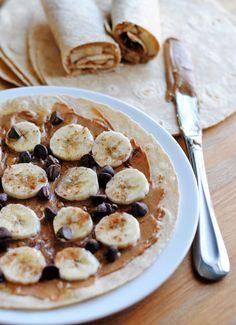 Peanut Butter & Banana Wraps   So How's It Taste